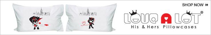Long Distance Pillowcases | ... Couples,Cute Couple Gifts,Romantic Gifts for Couples,Love Pillowcases