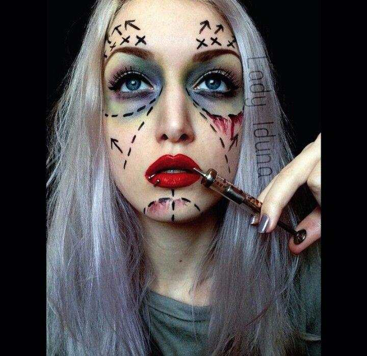 Masive Surgery Amazing Fantasy Makeup Halloween
