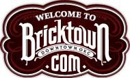Bricktown   Spend St. Patty's Day in Bricktown from noon to midnight. Tents will be set up on the corner of Sheridan and Oklahoma Ave. Enjoy live music on the Chevy Stage all day. Green beer, beads, hats, t-shirts & great Bricktown restaurants and bars.