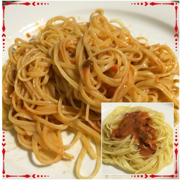 Linguine with sea urchins