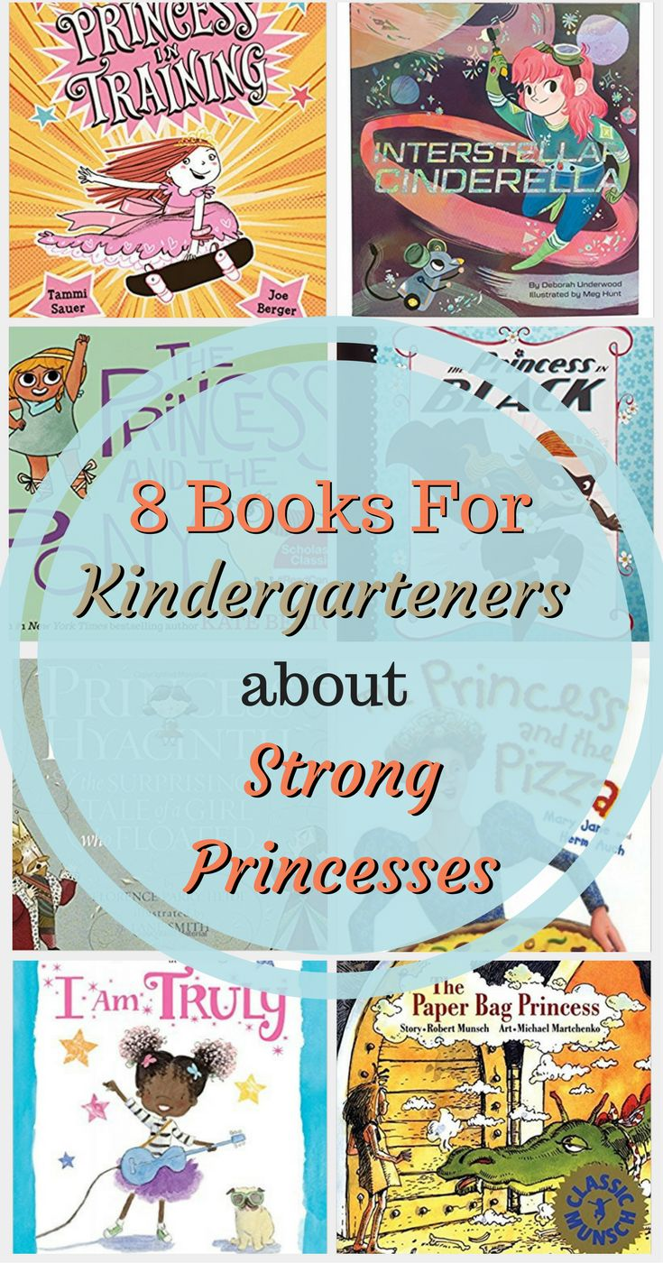 Our favorite books for kindergarteners about strong, independent girls and princesses! via @bookskidstravel