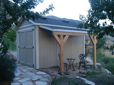Lean to Utah Sheds
