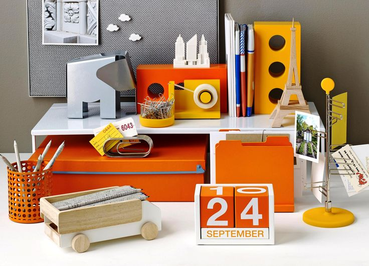 chic office supplies orange desk accessories uk desk design ideas 13530