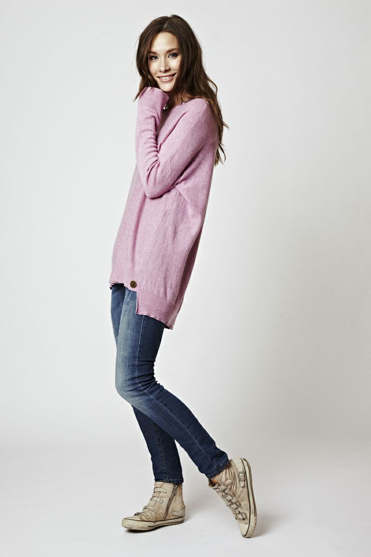 Florence Design Oversize sweater <3 PINK