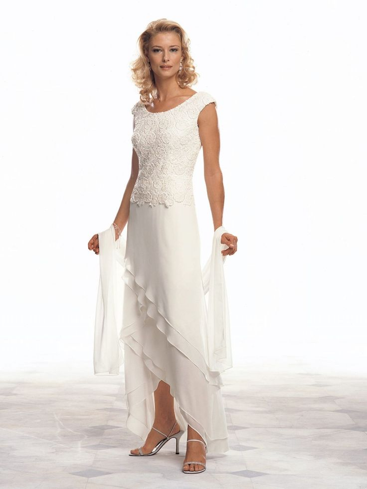 Informal Wedding Dresses For Older Brides: Tropical Wedding Dresses For Mother Of The Bride
