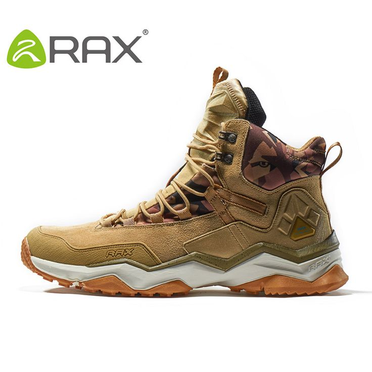 RAX 2017 Waterproof Hiking Shoes For Men Winter Hiking Boots Men Outdoor Boots Climbing Walking Mountaineering Trekking Shoes