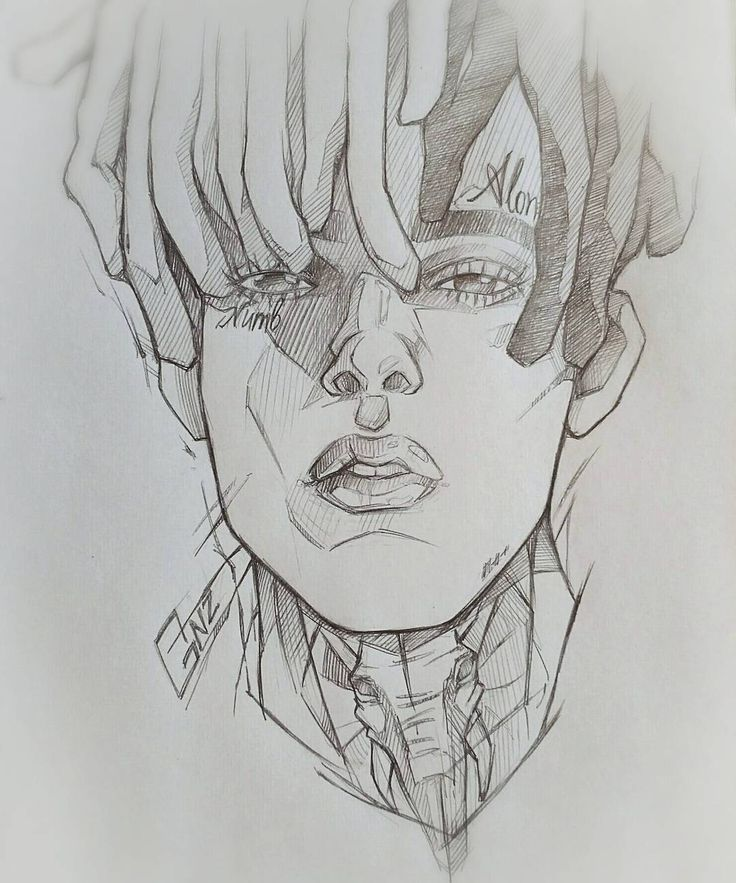 Drawing Lines In Muse : Best xxxtentacion arts images on pinterest