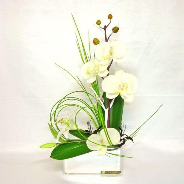 25 best ideas about composition florale artificielle on. Black Bedroom Furniture Sets. Home Design Ideas