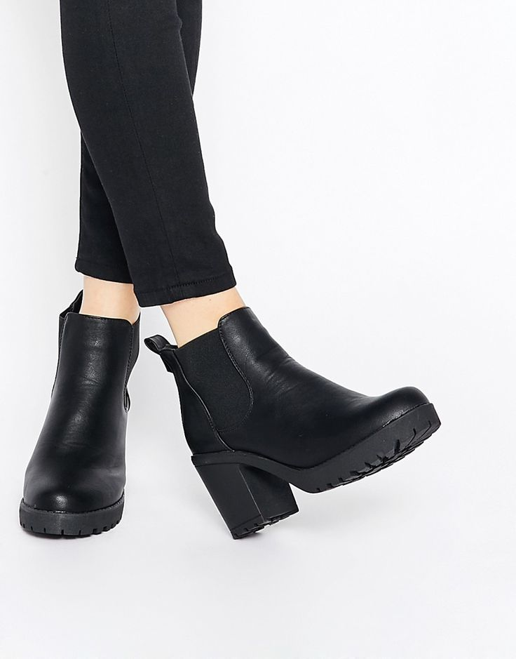 Image 1 of Truffle Collection Tori Platform Heeled Chelsea Boots