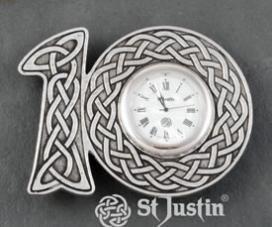 tenth anniversary clock