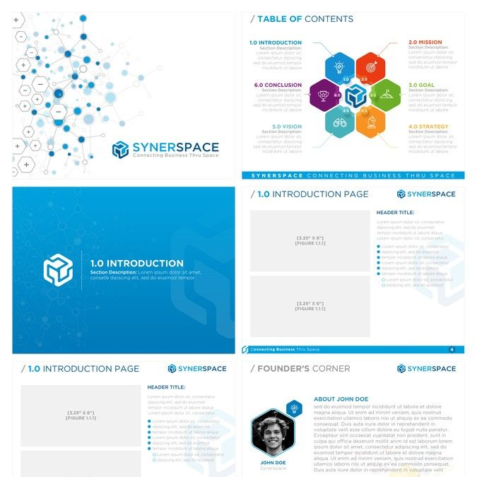 PowerPoint Presentation Layout for Retail Synergy by smashingbug