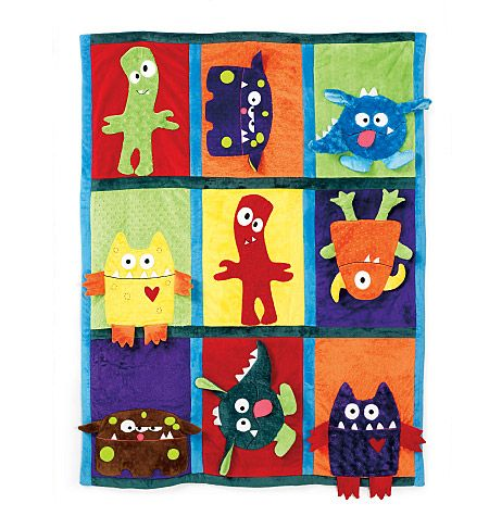 printable monster pattern for preschoolers | M6411 | Quilt and Pillow Case | Crafts/Dolls/Pets | McCall's Patterns