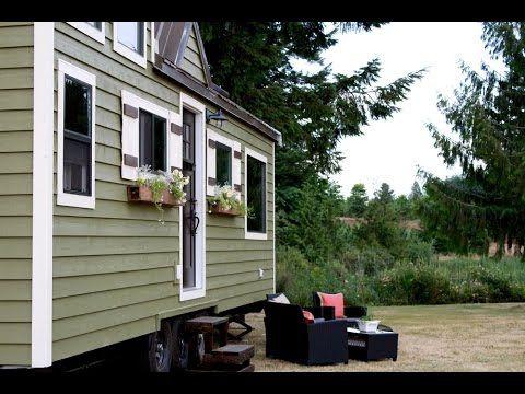 Vintage tiny house by Heirloom tiny homes company