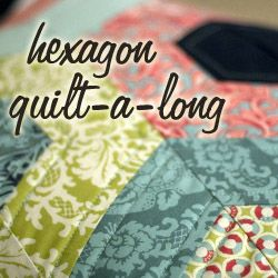 Need to make this Hexagon quilt-a-long tutorial - make easy hexagons with jelly roll strips and a triangle ruler