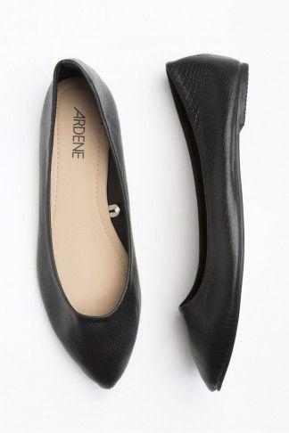 Black flats - ardenes $14.50