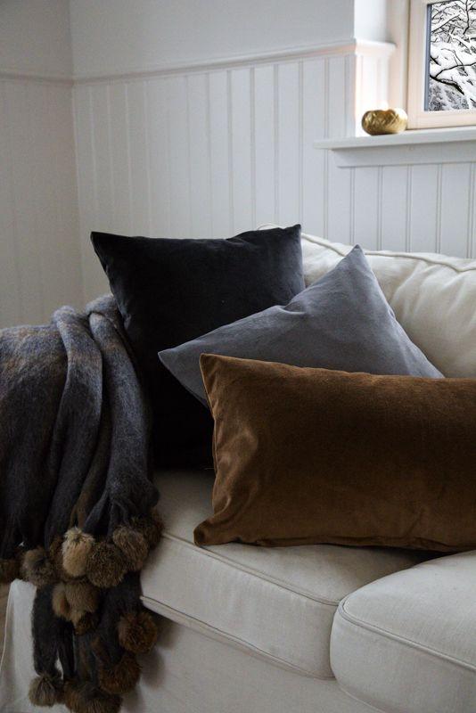 A.U Maison AW15. #aumaison #interior #homedecor #styling #danishdesign #danishproduction #christmas #hygge #blanket #fur