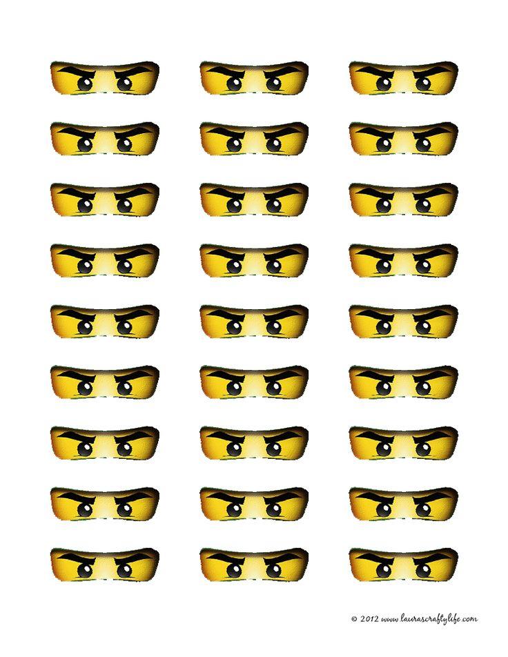 Printable Ninjago Eyes                                                                                                                                                                                 Mehr