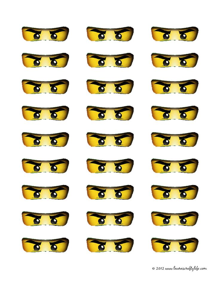 Clever image with regard to ninjago eyes printable