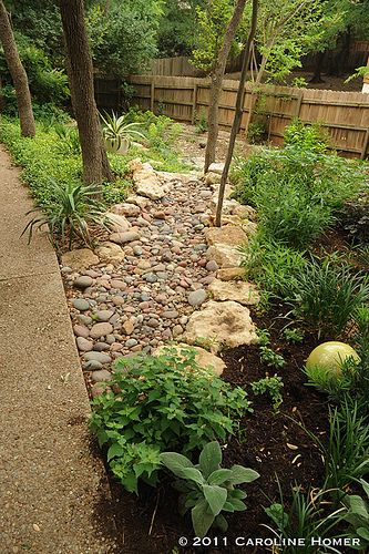 how to build a dry creek bed - Google Search