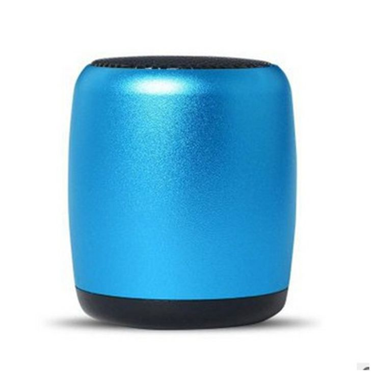 Tiger C Mini Subwoofer Portable Wireless Bluetooth Speaker for Outdoor Blue. Size about 36.8x36.8x43mm,weight about 0.15 kg. It can be played about 6 hours on full charge. It's easy to carry out for outside activities. Small size but this mini speaker with great,clear and loud 3D sound. Bluetooth self-timer,hand-free call,voice prompts,FM radio,support TF card.