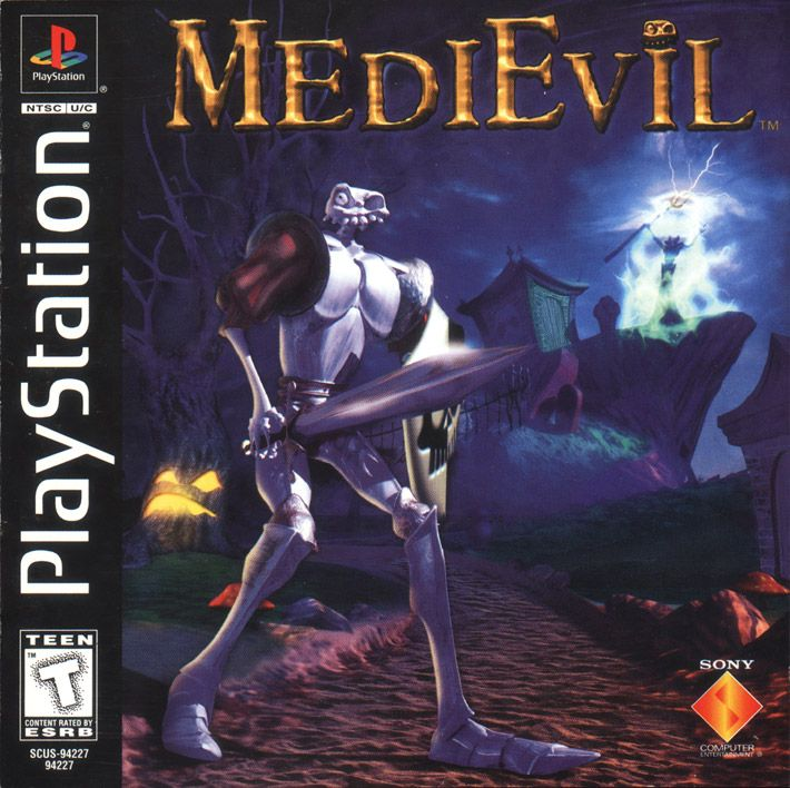 MediEvil- MY FAVORITE VIDEO GAME OF ALL TIME!!!!!!!