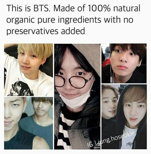 Besides the dyed hair of course. It would be all natural and delicious with just their black hair.