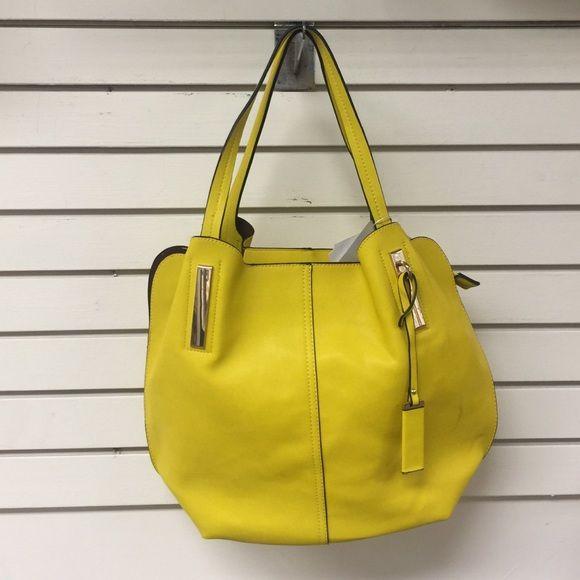 HOST PICKSummer Vegan Leather Yellow Purse Gorgeous yellow vegan leather bag.  Bags