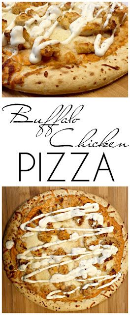 Easy Buffalo Chicken Pizza and BBQ Chicken Tacos