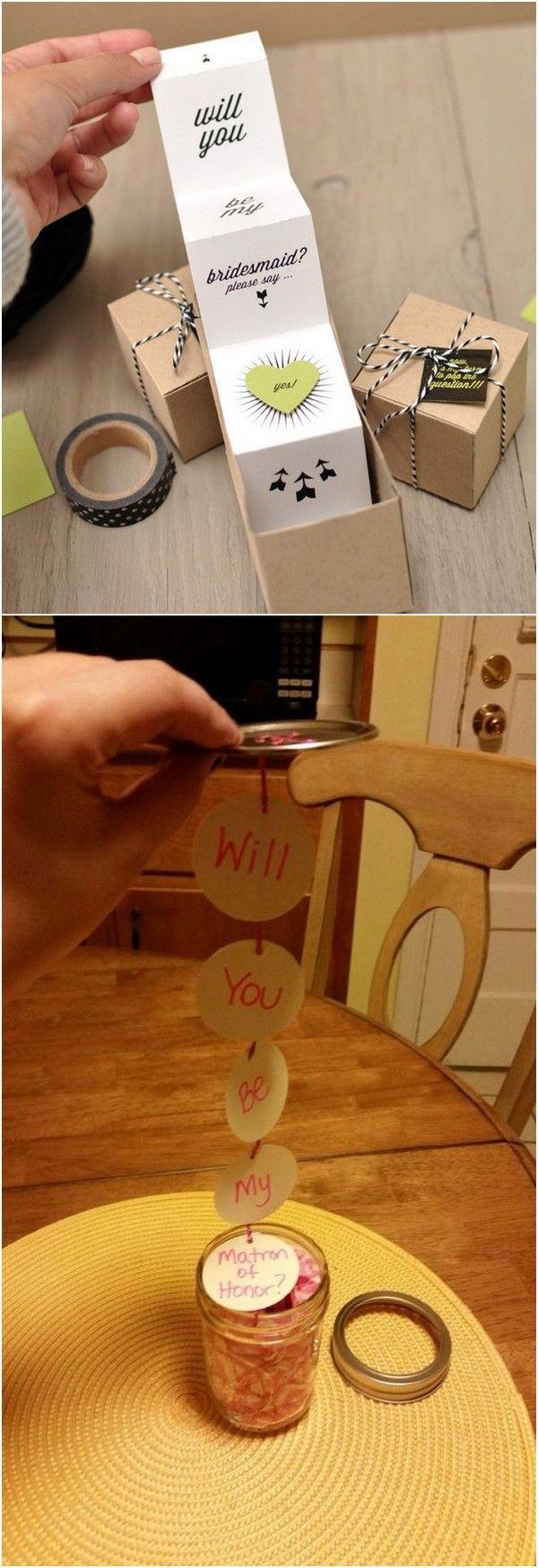 fun bridesmaid gift ideas