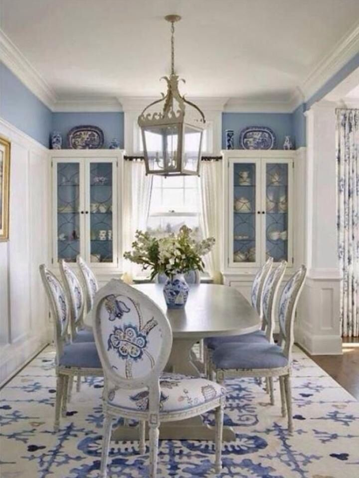 willow dining room | 1000+ images about Blue Willow inspired living room dining ...