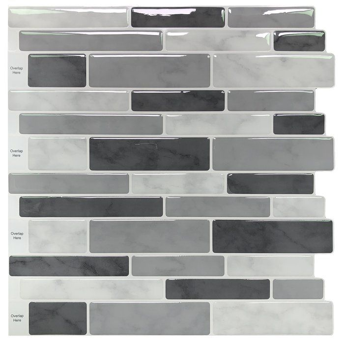 11 1 X 11 3 Vinyl Peel Stick Mosaic Tile Peel And Stick Tile Stick On Tiles Decorative Wall Tiles