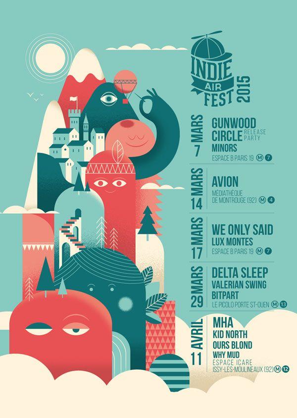 Indie Air Fest 2015 #festival https://fr.pinterest.com/igreka2n/festival/