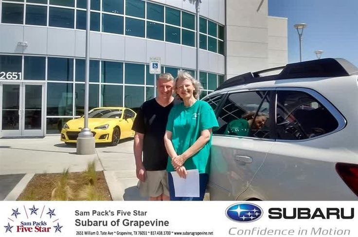 Five Star Subaru of Grapevine Customer Review  ENJOYED DEALING WITH BILL   HE IS A GREAT SALESMAN  I WOULD RECOMEND HIM TO ANYONE  ENJOYED DEALING WITH FIVE STAR SUBARU.    Glenn & Janet, https://deliverymaxx.com/DealerReviews.aspx?DealerCode=M315&ReviewId=57353  #Review #DeliveryMAXX #FiveStarSubaruofGrapevine