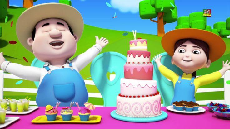 Canção de feliz aniversario para crianças   Happy Birthday Song   Party ...