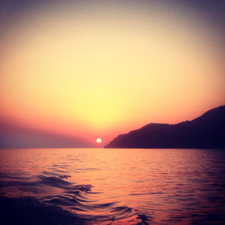 Sunset in Sifnos Greece