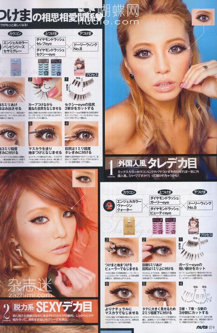 Gyaru makeup<3
