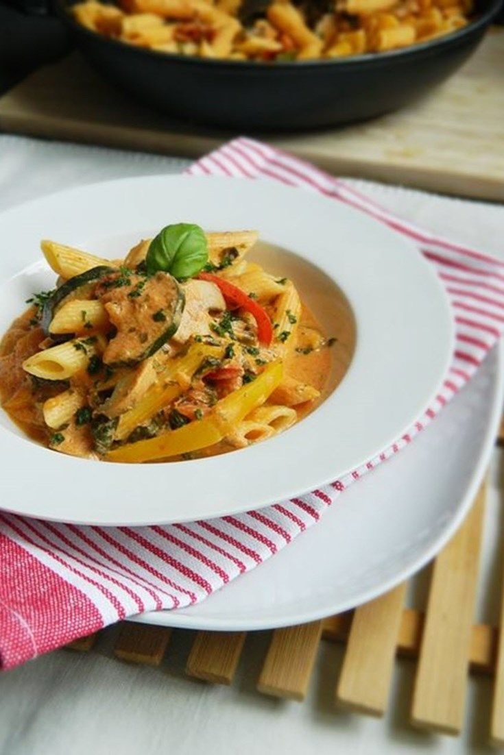 Creamy Vegetarian Pasta Sauce Recipe Vegetarian Pasta Vegetarian Pasta Sauce Vegetarian Recipes