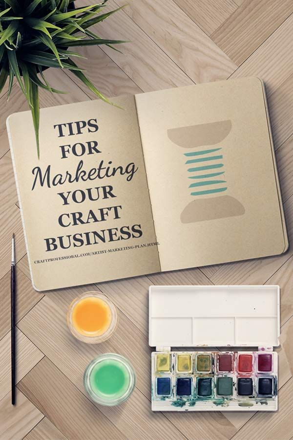 Tips for developing a marketing plan for your craft business here http://www.craftprofessional.com/artist-marketing-plan.html