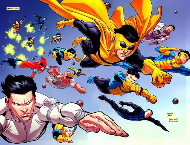 Invincible screenshots, images and pictures - Comic Vine Comic Book Characters, Comic Character, Comic Books Art, Comic Art, Character Design, Character Ideas, Book Art, Best Superhero, Superhero Design