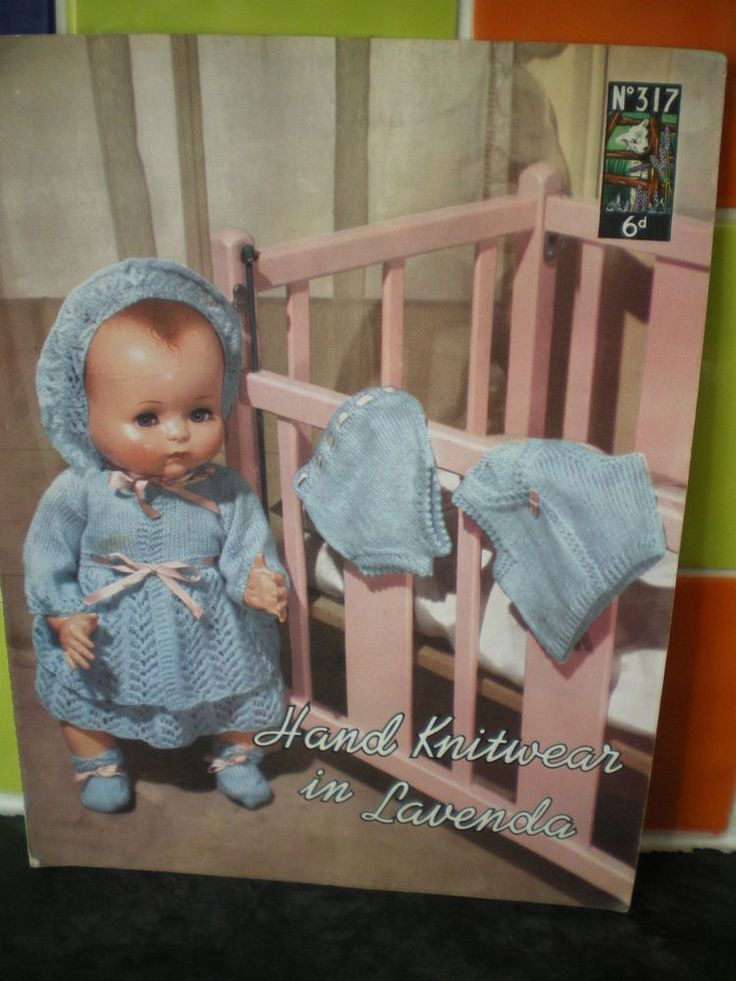 Vintage Dolls Knitting Patterns : 1000+ images about Baby & Doll Knitting & Crochet Patterns ...