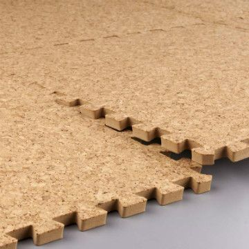 Coarse cork anti-fatigue ground EVA mats | Healthier alternative to plastic foam tiles for kids. | Nantong Meitoku Plastic Company Limited