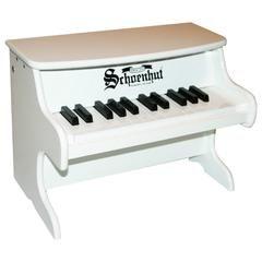 Schoenhut 25 Key First Piano - White