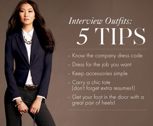 What to wear to a job interview: 5 tips to remember