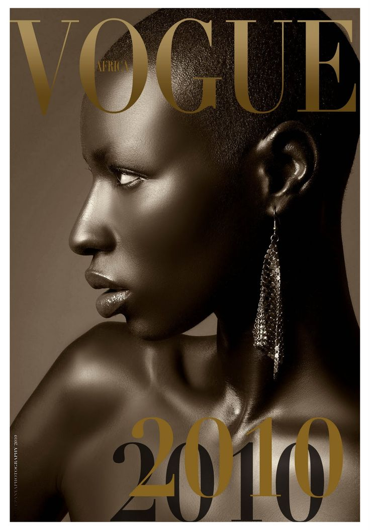 VOGUE Africa 2010 Special Edition Issue. ♥ so elegant.: Face, Cover, African, Black Beauty, Beautiful, Photography, Black Women