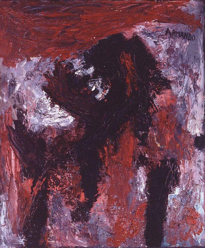 Armando, Tête noire 6-57, MOA, Museum Oud Melisweerd