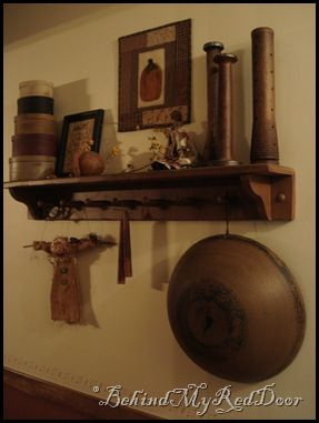91 best Primitive, Colonial, and Shaker Shelves images on ...