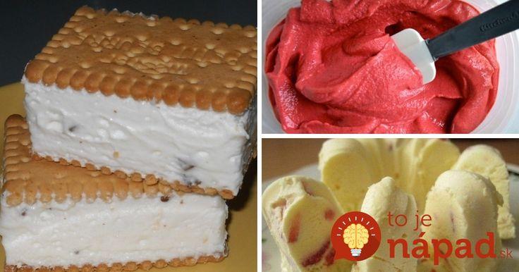 Prinášame vám 11 receptov na najlepšiu domácu zmrzlinu, ktorú si viete pripraviť rýchlo a jednoducho. Vyskúšajte všetky!