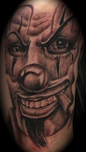 Cholo Tattoos Face: Cholo Clown Face By Zak Khanat LDF Tattoo Marrickville