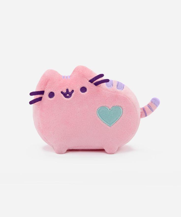 Mini Pastel Pusheen plush toy (pink) $11.99 | http://www.heychickadee.com/