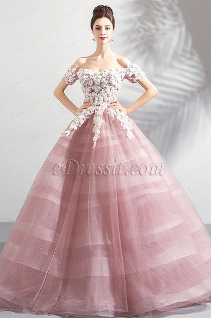 718f3092874 Graceful designs of this high neck pink bridal dress include a classic High  Neck Lace design